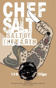 Chef Salt by The Spice Co. naturally!