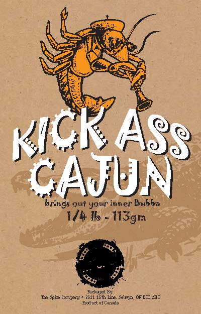 Kick Ass Cajun delivers a great tasting Cajun seasoning that is balanced with an east to swallow heat!