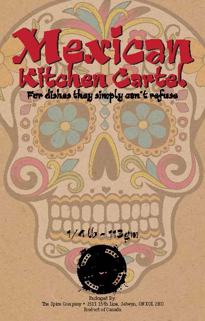 Mexican Kitchen Cartel is a smoky blend of traditional seasonings and spices!