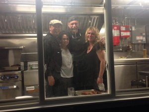 The food truck was on hand for the Opening Night of Smithworks Brewing Company