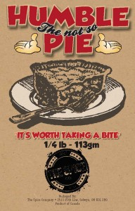 NOW AVAILABLE from The Spice Co. Humble Pie