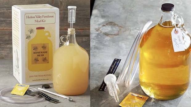 Williams-Sonoma Homemade Mead Kit is available on-line