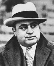 "Al ""Scarface"" Capone got his scars as a young bartender after complimenting a lady on having a ""nice ass"". Her brother took a knife to Capone's face"