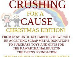 Crushing for a Cause